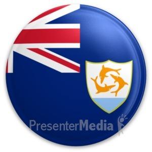 ID# 20005 - Badge of Anguilla - Presentation Clipart
