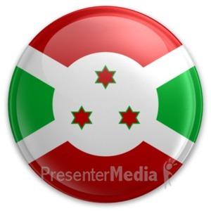 ID# 20018 - Badge of Burundi - Presentation Clipart