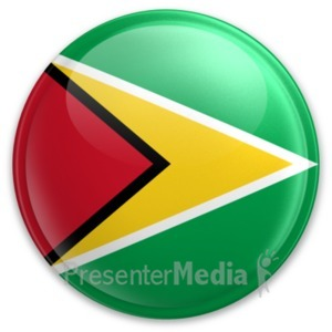 ID# 20090 - Badge of Guyana - Presentation Clipart