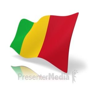 ID# 20178 - Flag Mali - Presentation Clipart