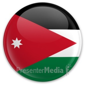ID# 20205 - Badge of Jordan - Presentation Clipart