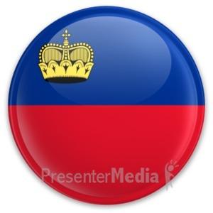 ID# 20210 - Badge of Liechtenstein - Presentation Clipart