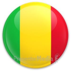 ID# 20271 - Badge of Mali - Presentation Clipart