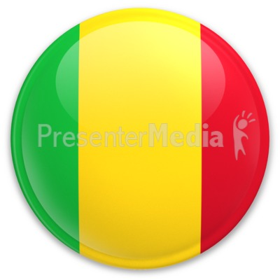 Badge of Mali PowerPoint Clip Art