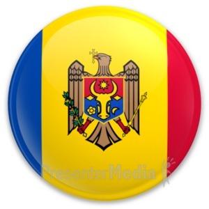 ID# 20276 - Badge of Moldova - Presentation Clipart