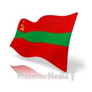 ID# 20373 - Flag Transnistria - Presentation Clipart
