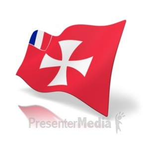 ID# 20381 - Flag Wallis And Futuna - Presentation Clipart