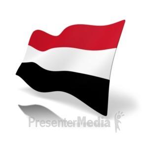 ID# 20384 - Flag Yemen - Presentation Clipart