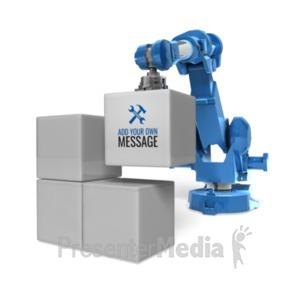 Robot arm move objects id 20403 robot arm stack blocks presentation clipart toneelgroepblik Images