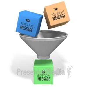 ID# 20477 - Funnel Combine - Presentation Clipart