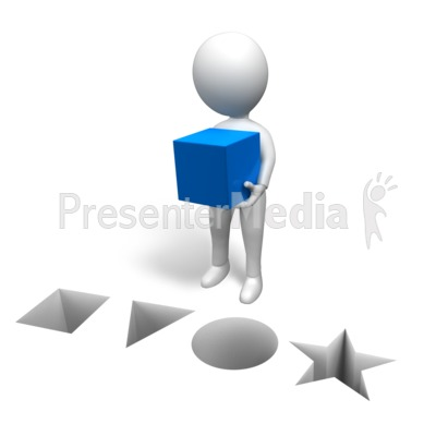 Figure Correct Shape PowerPoint Clip Art