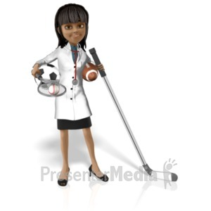 ID# 20765 - Doctor Kim Sports - Presentation Clipart