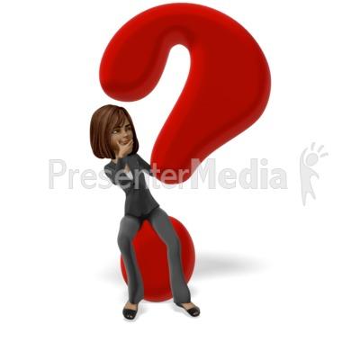 Talia Question Mark PowerPoint Clip Art