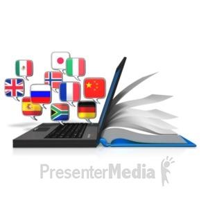 ID# 20856 - Web Education Translation - Presentation Clipart