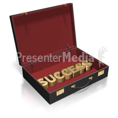 Briefcase Text Custom PowerPoint Clip Art