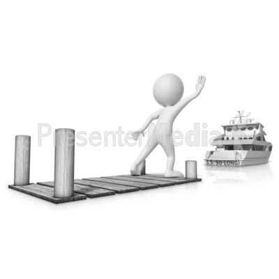 Missed The Boat PowerPoint Clip Art