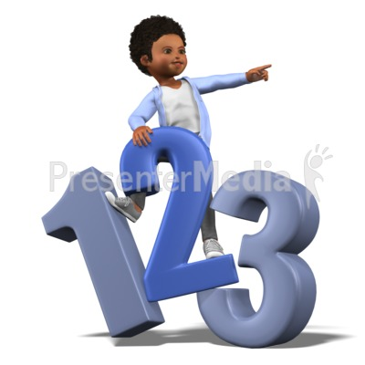 Chloe Number Search PowerPoint Clip Art