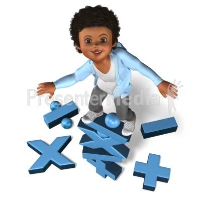 Chole Math Symbols Balance PowerPoint Clip Art