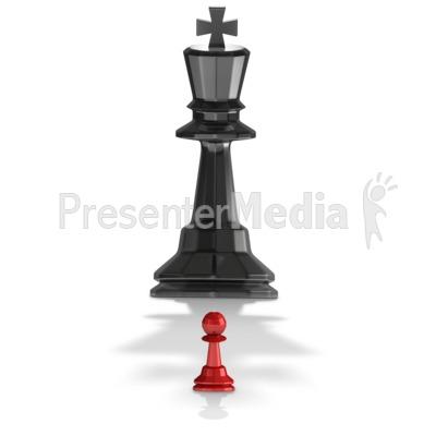 Little Pawn PowerPoint Clip Art