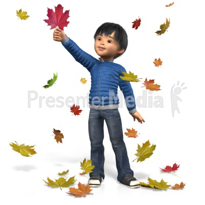 Autumn James Play PowerPoint Clip Art