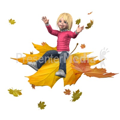 Sally Ride The Leaves PowerPoint Clip Art