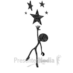 ID# 21177 - Reach Of The Stars - Presentation Clipart