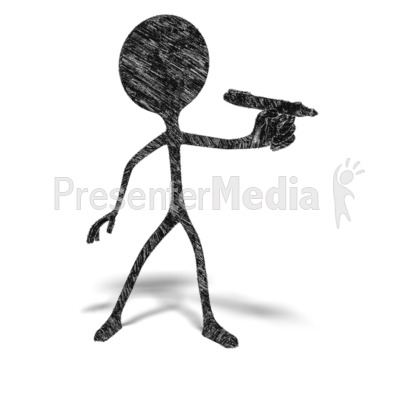 Sketch Figure Writing PowerPoint Clip Art