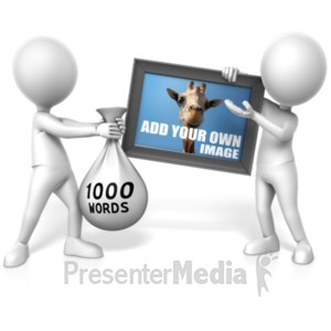 ID# 21405 - Picture is Worth 1000 Words - Presentation Clipart