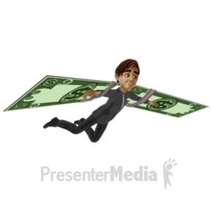 ID# 21430 - Success And Independence - Presentation Clipart