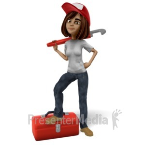 ID# 21556 - Talia Fixer Upper Wrench - Presentation Clipart