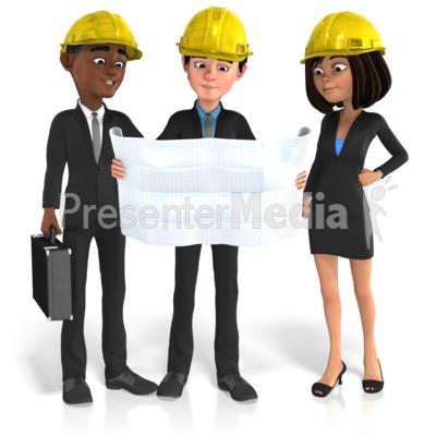 Business Group Plans PowerPoint Clip Art