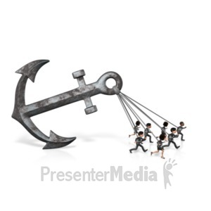 ID# 21648 - Anchor Business Group Pull - Presentation Clipart