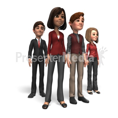 Business People Group PowerPoint Clip Art