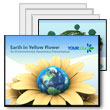 ID# 306 Earth Flower PowerPoint Template