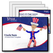 ID# 335 Uncle Sam PowerPoint Template