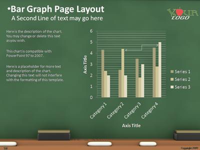 The chalkboard a powerpoint template from presentermedia home powerpoint templates toneelgroepblik Gallery