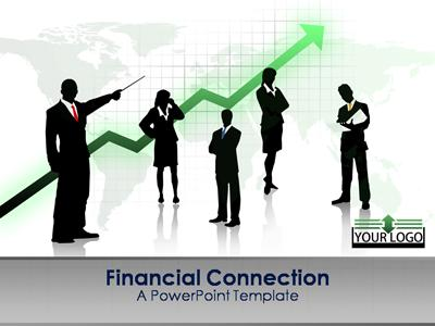 ID# 347 - Financial Connection - PowerPoint Template