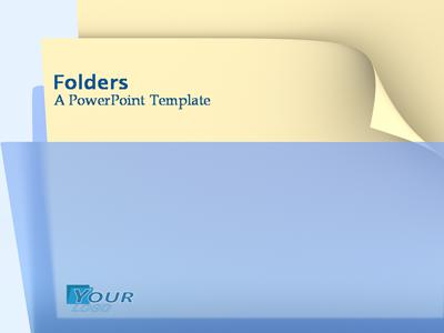 Folders a powerpoint template from presentermedia folders powerpoint template toneelgroepblik Images