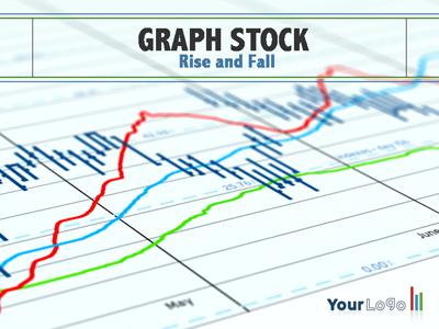 Graph stock a powerpoint template from for Stock market ppt templates free download