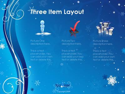 Winter swirl a powerpoint template from presentermedia home powerpoint templates toneelgroepblik Choice Image