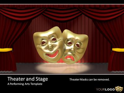 Theater And Stage PowerPoint Template