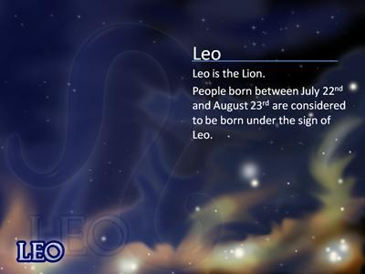 zodiac stars  a powerpoint template from presentermedia, Powerpoint