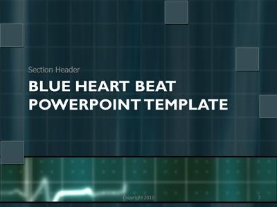 powerpoint templates blue
