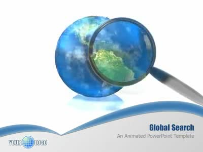 ID# 1914 - Global Search - PowerPoint Template