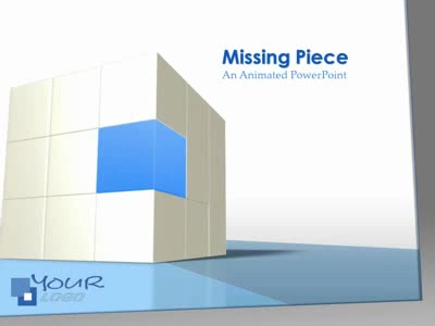 ID# 1931 - Missing Piece - PowerPoint Template