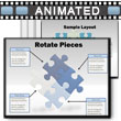ID# 2240 Puzzle Piece Tool Kit PowerPoint Template
