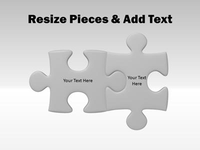 Puzzle Piece Tool Kit PowerPoint Template