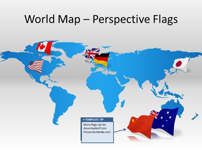 world map template powerpoint