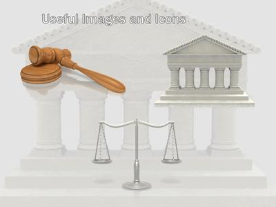 Justice scale a powerpoint template from presentermedia toneelgroepblik Images