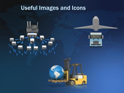 Supply Chain Logistics - A Powerpoint Template From Presentermedia.Com